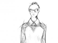 Sketch:  Burch's Spring 2012 line.