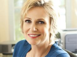 'Glee'  star Jane Lynch will be hosting the Emmys on Sunday. And she has a memoir that arrives Tuesday.