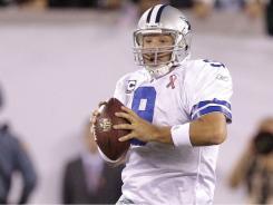 Dallas Cowboys quarterback Tony Romo scrambles during Sunday's game against the New York Jets.