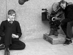 Gus Van Sant directs Henry Hopper in 'Restless,' which is dedicated to his late father, acting legend Dennis Hopper.