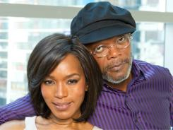 Angela Bassett and Samuel L. Jackson play Camae, a hotel worker, and  Martin Luther King Jr.