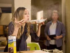 Easy as pie:  Sarah Jessica Parker plays Kate, a career woman who is juggling her ambition, her husband (Greg Kinnear) and her family.