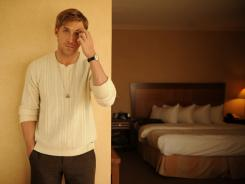 "Gosling, 30, in Toronto to promote two movies:  ""Drive,"" opening Friday, and  ""The Ides of March,"" due in theaters next month."