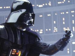 The dark force is with Darth Vader, who has been played by numerous actors and has appeared in all six 'Star Wars' films.