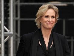 Jane Lynch of Glee fame will be the host for Sunday's Emmy Awards.