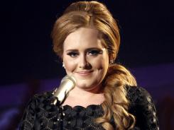 Adele performs at the MTV Video Music Awards  in Los Angeles.