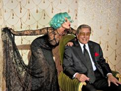Lady Gaga joins Tony Bennett on a remake of 'The Lady Is a Tramp.'