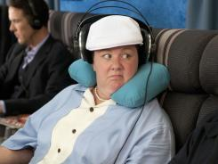 "Emmy winner Melissa McCarthy stars as the wildly inappropriate Megan in ""Bridesmaids."""
