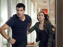 Teens Nathan (Taylor Lautner ) and Karen (Lily Collins) evade secret agents and foreign thugs.