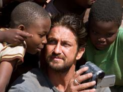 Mission of mercy:  Sam Childers (Gerard Butler) tries to help children in war-ravaged Sudan.