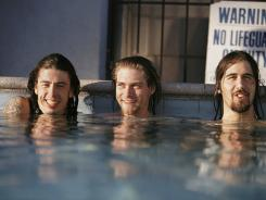 "Drummer Dave Grohl, left, on the simple production of 'Nevermind'.: ""By today's standards, it might as well have been done at Sun Studio."""