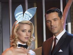 Eddie Cibrian, with Amber Heard, stars as the mysterious Nick in NBC's Playboy Club.