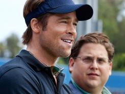 Moneyball, with Brad Pitt and Jonah Hill, debuted at No. 2 this weekend behind The Lion King 3-D.