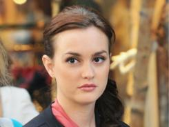 "Blair (Leighton Meester) plans her wedding to her Prince Charming on ""Gossip Girl."""