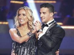 Eagerly awaiting Monday's quickstep: Mark Ballas and partner Kristin Cavallari have days to prepare Monday's number, compared to weeks for their first.