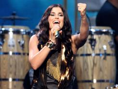 Singer Nelly Furtado performs onstage at the 2010 Billboard Latin Music Awards.