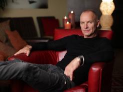 Sting has a busy month coming up: a birthday, a benefit concert, a tour and a reading in New York of his stage musical, &quot;The Last Ship.&quot;