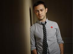 "No fear: Joseph Gordon-Levitt wasn't turned off by the  serious topic of  '50/50.' ""I don't think we talk about it enough,"" he says.  ""We're going to die, and it's all right, and it's actually sort of beautiful."""