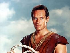 Charlton Heston had the starring role in 1959's Ben-Hur, which won 11 Academy Awards.