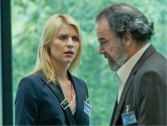 Trust no one:  Claire Danes and Mandy Patinkin are hunting for a deep-cover terror operative who might be an American soldier.