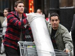 Bryan Greenberg (left) and Victor Rasuk play two twentysomethings in Brooklyn trying to achieve the American dream.