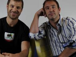 Respect their authority:  Matt Stone, left, and Trey Parker, the creators of  South Park  and the Broadway smash  The Book of Mormon , will be featured in a documentary on how they make each weekly episode of  South Park .