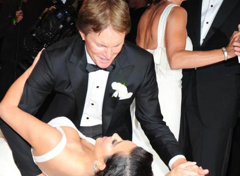 Bruce Jenner Kim's Wedding