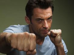 """Hugh Jackman polished his technique with the help of legendary boxer Sugar Ray Leonard. """"If he had a boxing nickname, it would be 'Sweet' Hugh Jackman,"""" Leonard says."""
