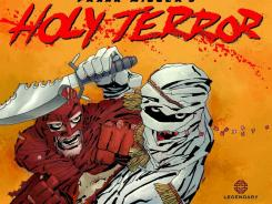 A superhero takes on terrorists in Frank Miller's Holy Terror.