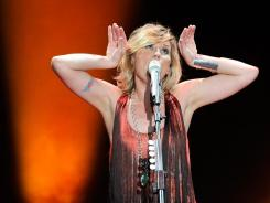Jennifer Nettles  and guitarist/singer Kristian Bush of Sugarland perform  in Las Vegas in June.