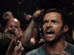 Hugh Jackman is a washed-up fighter trying to make his way in a world where boxing robots are king.