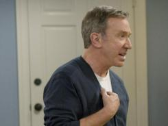 He's the   Man:  Tim Allen grapples with familiar sitcom situations in ABC's  Last Man Standing, which has echoes of Allen's 1990s hit comedy  Home Improvement.