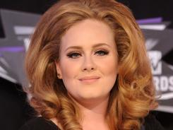 Adele is nominated in four categories in the American Music Awards.