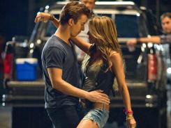 Kenny Wormald plays Ren and Julianne Hough plays Ariel in the remake of 1984's 'Footloose'.