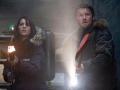 Cold warriors:  Mary Elizabeth Winstead and Joel Edgerton star in The Thing.