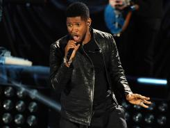 Usher performs at the Clinton Foundation's Decade of Difference concert on October 15, 2011 at the Hollywood Bowl in Hollywood, Calif.