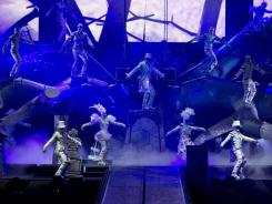 "Cirque Du Soleil's Michael Jackson tribute, ""The Immortal World Tour,"" takes the stage in Montreal."