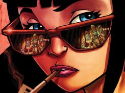 The upcoming Image Comics series Alpha Girl stars a young punker named Judith Meyers and a world ravaged by man-eating female zombies.
