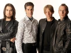 The band: Dave Navarro, Perry Farrell,  Chris Chaney, Stephen Perkins.