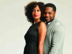 Tracee Ellis Ross plays a  therapist, with Malcolm-Jamal Warner as an NYU professor, in BET's 'Reed Between The Lines.'