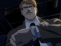 Bryan Cranston voices Gotham City cop Jim Gordon in Batman: Year One, a new animated film based on the Frank Miller story.