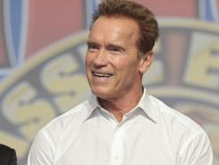 Arnold Schwarzenegger will be starring in a film called 'The Last Stand.'