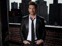 "Dylan McDermott's character on 'American Horror Story' has a wife and a mistress who are pregnant at the same time. ""It's every man's worst nightmare,"" McDermott says."