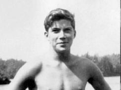 A 16-year-old William Shatner, as seen in the book 'Dear Me.'