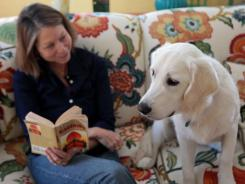 Scout at 9 months: This photo is from 'The Puppy Diaries' by Jill Abramson.