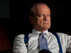 Frasier is all but forgotten here:  Kelsey Grammer portrays Chicago Mayor Tom Kane, a powerful man who is grappling with personal, political and health problems in Starz's new series  Boss.  It's directed by Gus Van Sant.