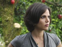 Fantasy meets reality:  Lana Parrilla is the Evil Queen  in ABC's new take on the classic fairy tale.