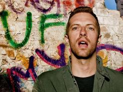 Nothing to lose:  Coldplay's Chris Martin took a fresh approach on  Mylo Xyloto .