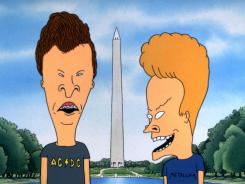 Butt-Head, left, and Beavis, who visited Washington in the 1996 movie 'Beavis and  Butt-Head Do America,' will now get to mock 'Jersey Shore,'  'Twilight,' new music videos and more.