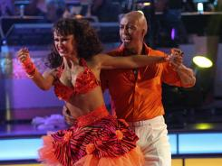 J.R. Martinez has proven to be fast on his feet, which will serve him well when he dances the quick step Monday with partner Karina Smirnoff. They are one of two teams to score a 10 this season.